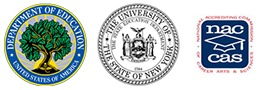 DoE, State of NY and Naccas, Logos